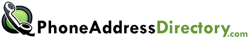 Phone number and address directory home